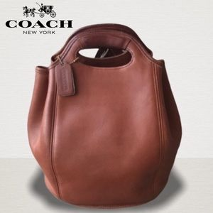 Vintage Coach Leather Backpack